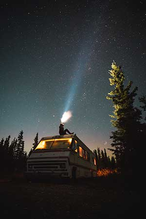 rv night sky