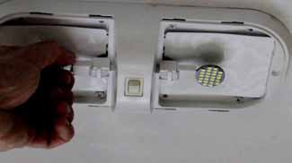 How to Change RV Ceiling Light Bulb